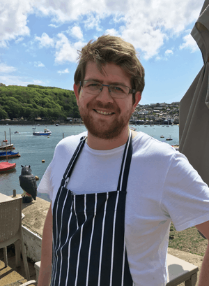 Richard Massey Chef The Old Quay House Restaurant