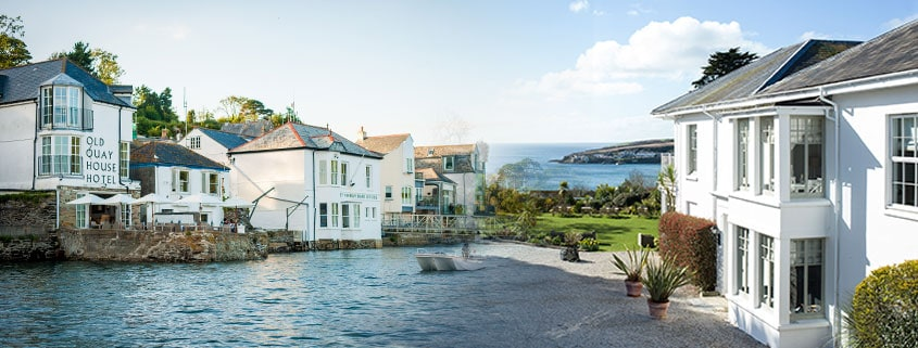 Couples South Coast Stay - The Old Quay House Hotel
