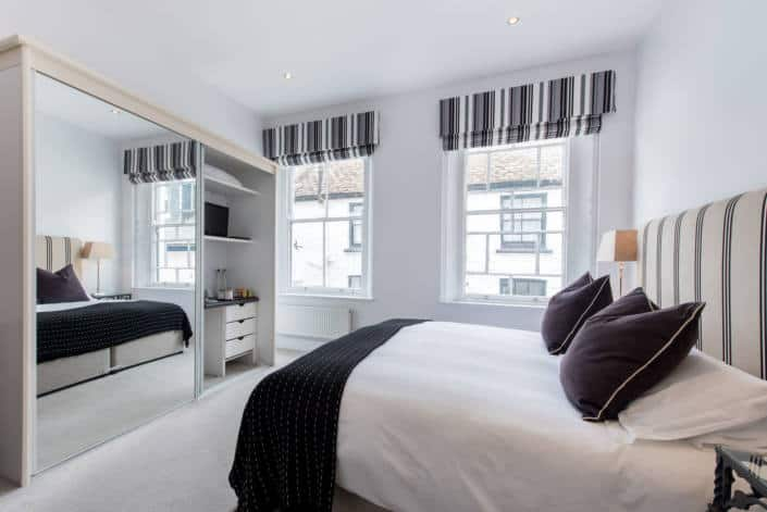 Hotel Rooms in Fowey - Accommodation Classic Double Room