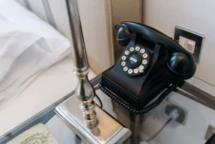 Hotel Rooms in Fowey - Accommodation Classic Double Room Phone