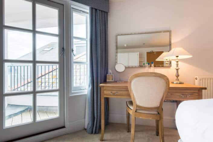 Hotel Rooms in Fowey - Accommodation Superior Room View