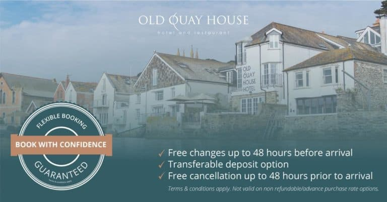 cancellation policy hotel old quay house