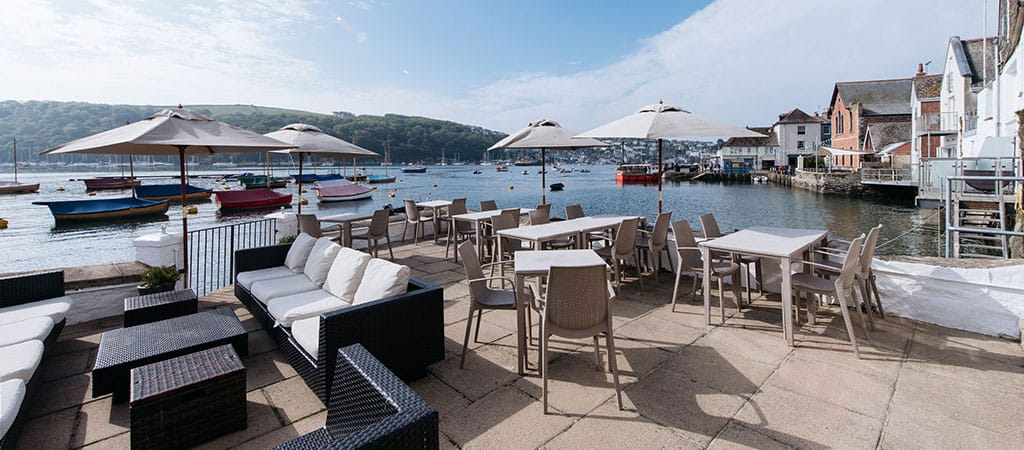 Cornish-Afternoon-High-Tea-on-The-Deck-The-Old-Quay-House